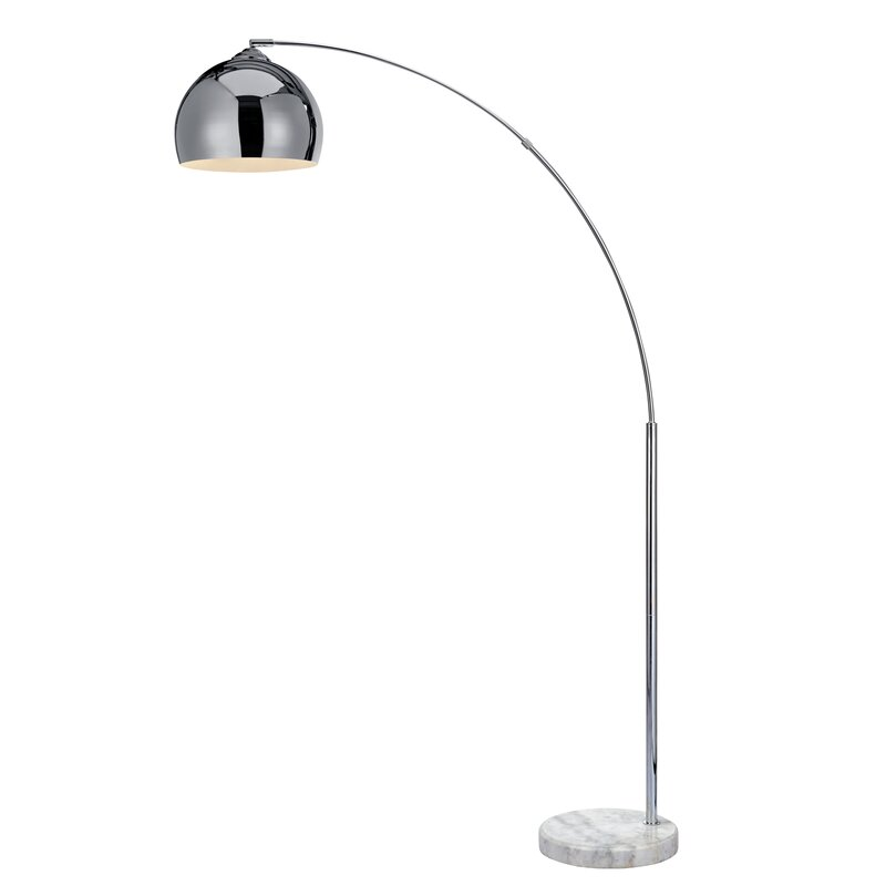 Arquer 66 93 Quot Arched Floor Lamp Amp Reviews Allmodern