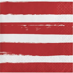 Festive Flag 4th Of July Beverage 6.5