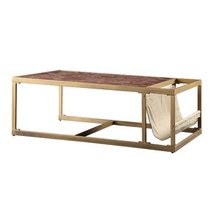 Kase Coffee Table with Tray Top by Everly Quinn