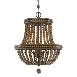 Lillian 6-Light Empire Chandelier by One Allium Way
