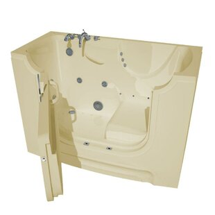 Check Prices HandiTub 60 x 30 Walk-In Air and Whirlpool Jetted Bathtub By Therapeutic Tubs