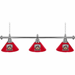 Trademark Global Ohio State University 3-Light Billiard Light