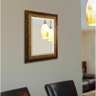 Best Price Point Arena Tarnished Bronze Wall Mirror ByTrent Austin Design