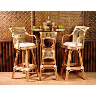 Pub Table Set by Spice Islands Wicker