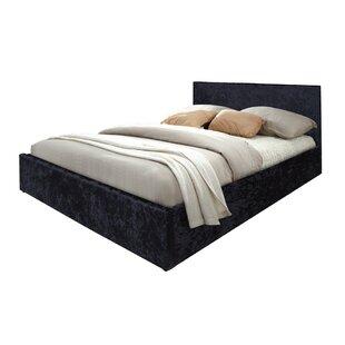 Bomely Crush Velvet Double (4'6) Storage Bed By Rosdorf Park