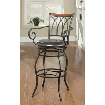 Swivel Amp With Arms Bar Height Bar Stools You Ll Love In