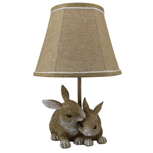 Bunny rabbit table lamps wayfair buchheit 16 table lamp aloadofball Choice Image