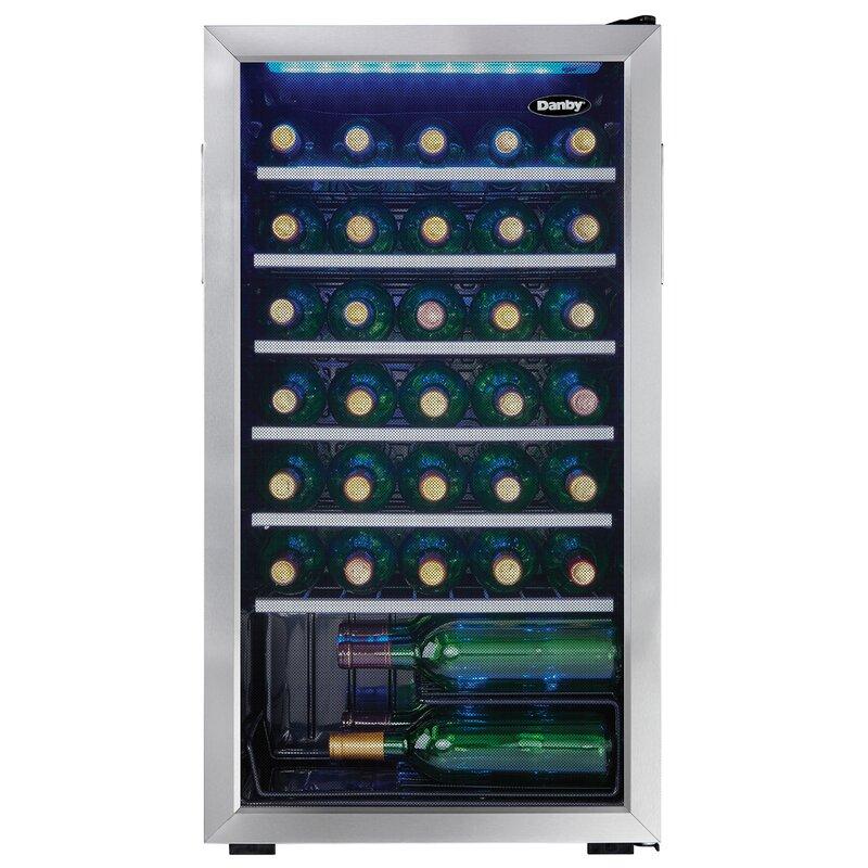 Danby 36 Bottle Single Zone Freestanding Wine Cooler