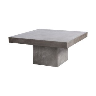 Kurt Outdoor Coffee Table by 17 Stories