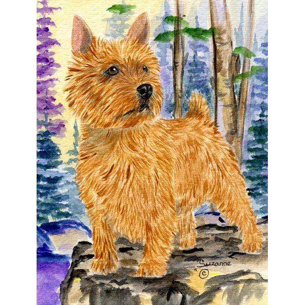 Red Barrel Studio Norwich Terrier 2 Sided Garden Flag Wayfair