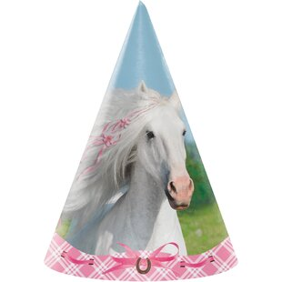 Heart My Horse Hat Paper Disposable Party Favor (Set of 24)
