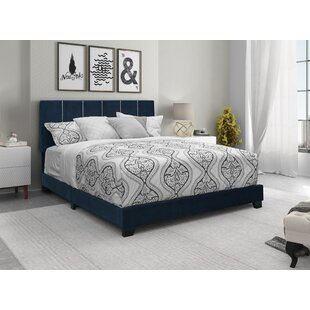 Canon Upholstered Panel Bed by Everly Quinn