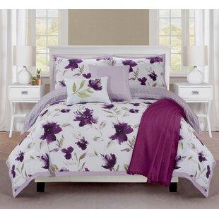 Ellen Tracy 6 Piece Reversible Comforter Set