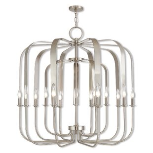Lawrence 15-Light Foyer Pendan..