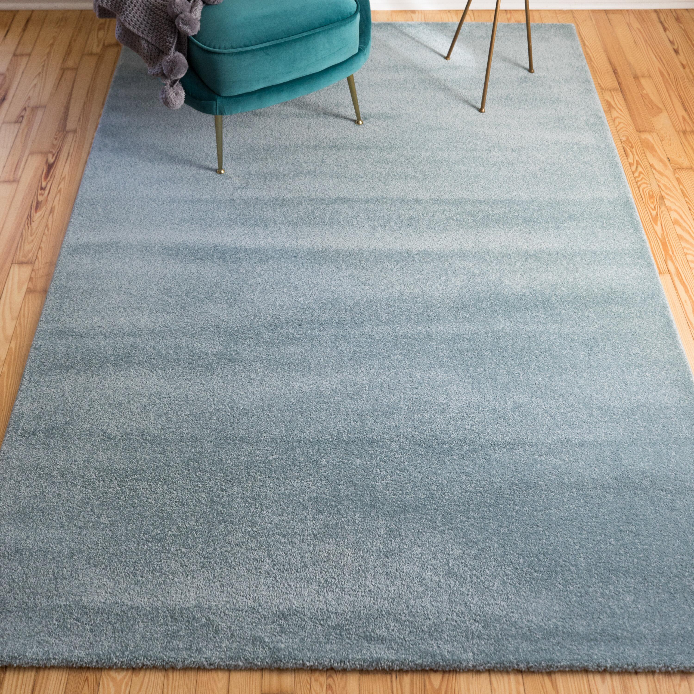 Ebern Designs Stangl Teal Area Rug Reviews Wayfair