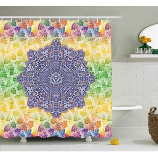 Delmare Indian Ethnic Ancient Single Shower Curtain