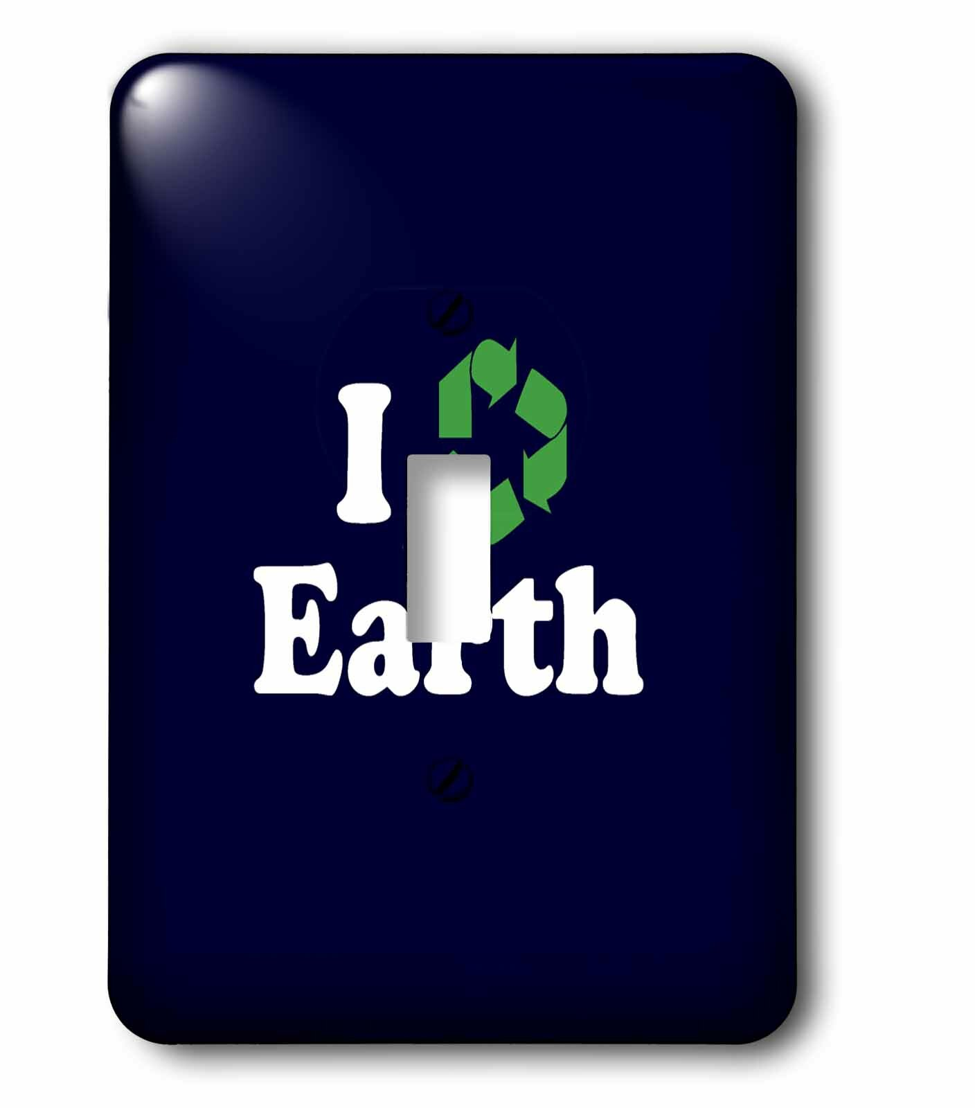 3drose I Recycle Earth 1 Gang Toggle Light Switch Wall Plate Wayfair