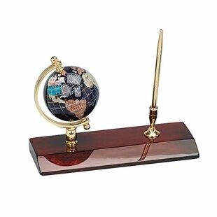 Alcott Hill Kroger Globe Pen Holder