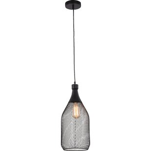 Ivy Bronx Cecila 1-Light Geometric Pendant