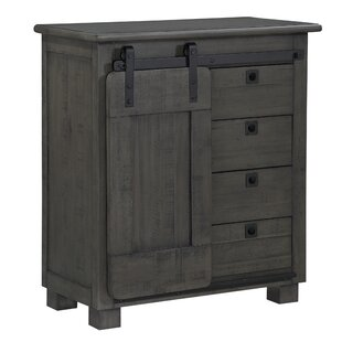 Iberia Sliding 3 Drawer Accent Cabinet
