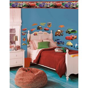 Disney Cars Piston Cup Champs Room Makeover Wall Decal By Wallhogs