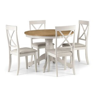 Isabelle Round Dining Set With Chairs By August Grove Free SH - Round dining room table with 4 chairs