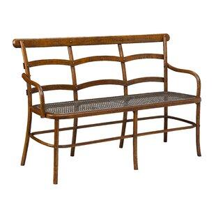 Gracie Oaks Lopresti Chevell Metal Bench
