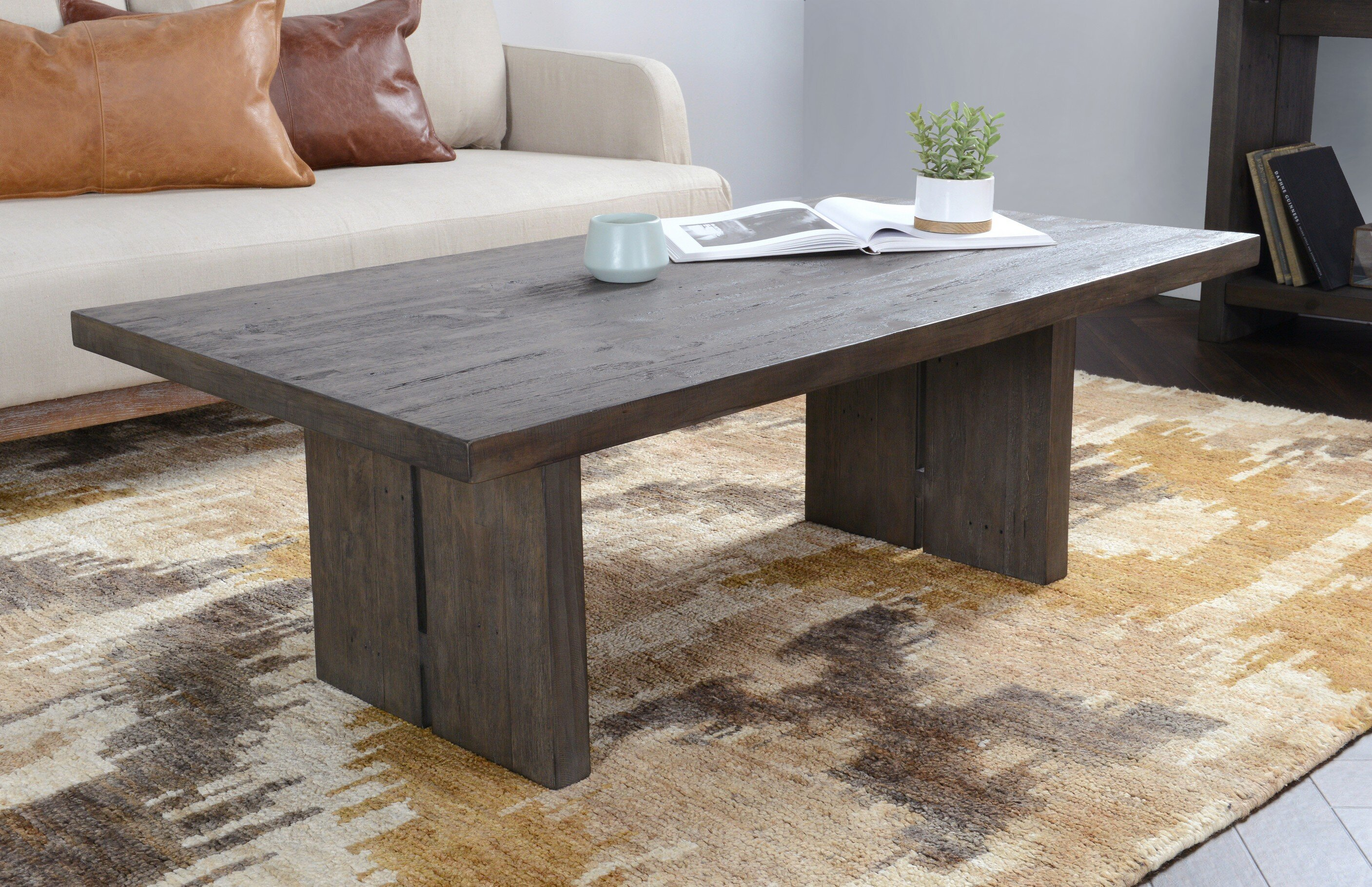 Reclaimed Sled Coffee Tables You Ll Love In 2021 Wayfair