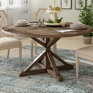 Wrens Solid Wood Dining Table by Birch Lane™ Heritage Newt