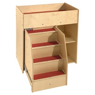 Contender Deluxe Diaper Changing Table by Wood Designs