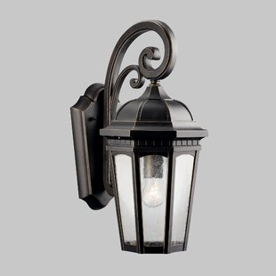 Order Flinders 1-Light Outdoor Wall Lantern By Darby Home Co