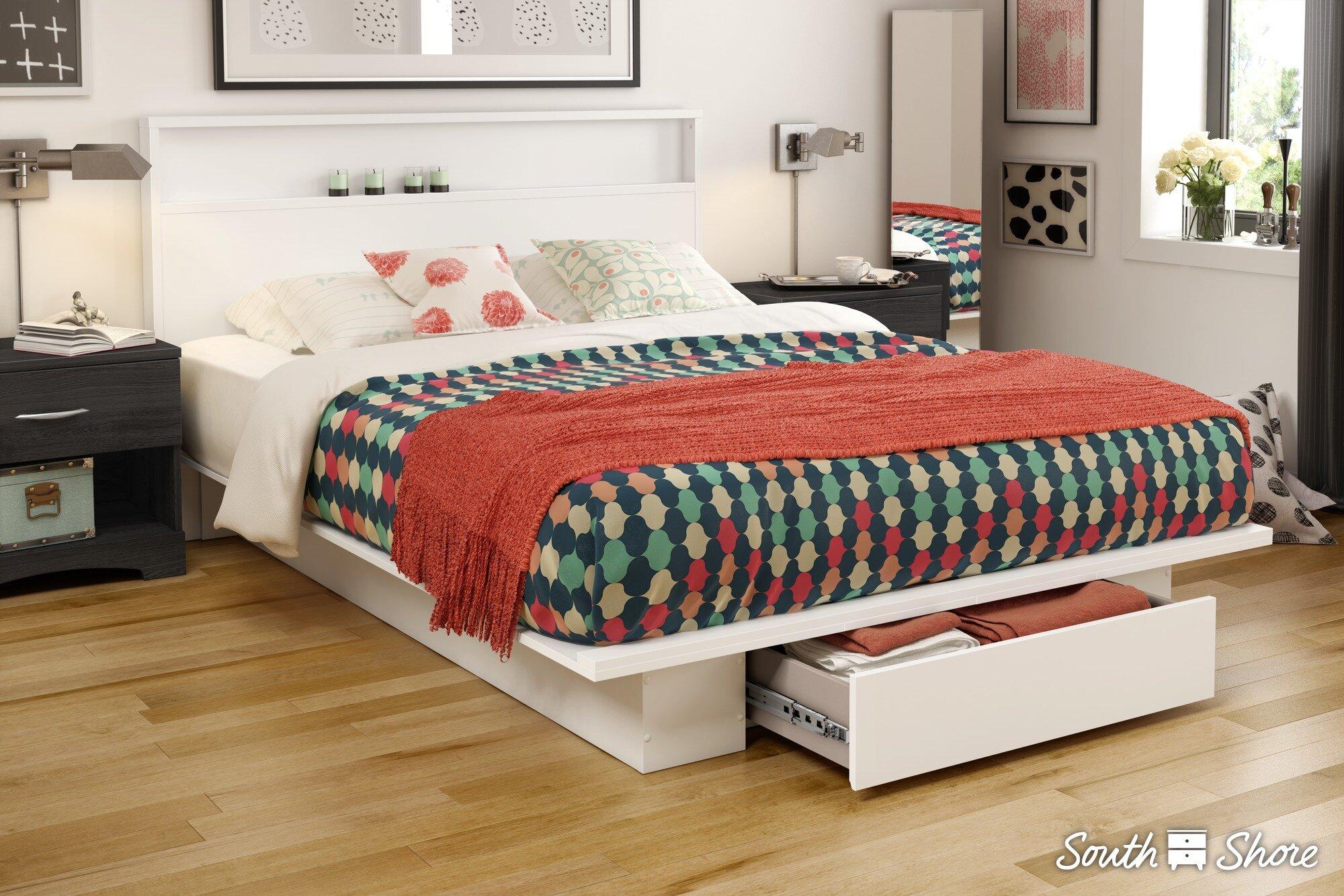 Awesome South Shore Holland Queen Storage Platform Bed U0026 Reviews | Wayfair