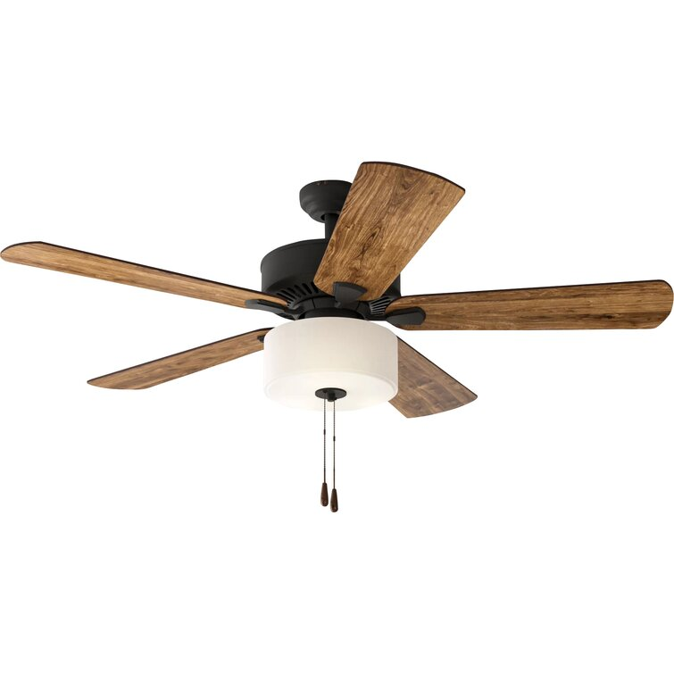 52 Sina 5 Blade Standard Ceiling Fan With Pull Chain And Light Kit Included Reviews Joss Main