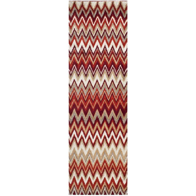 Safavieh Tahoe Handwoven Beige Red