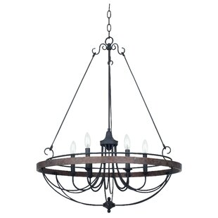August Grove Beuvron 6-Light Chandelier