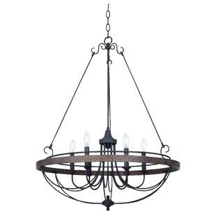 August Grove Beuvron 6-Light Chandelier