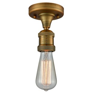 Arcuri 1-Light Semi Flush Mount by Williston Forge