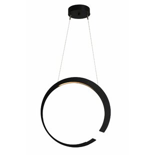 Orren Ellis Pendarvis 1-Light LED Pendant