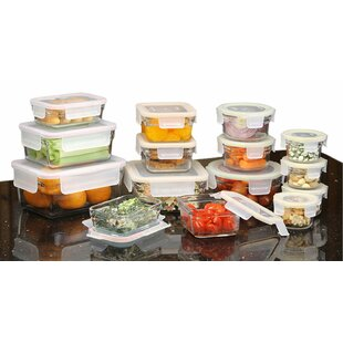 Rimless 30 Container Food Storage Set