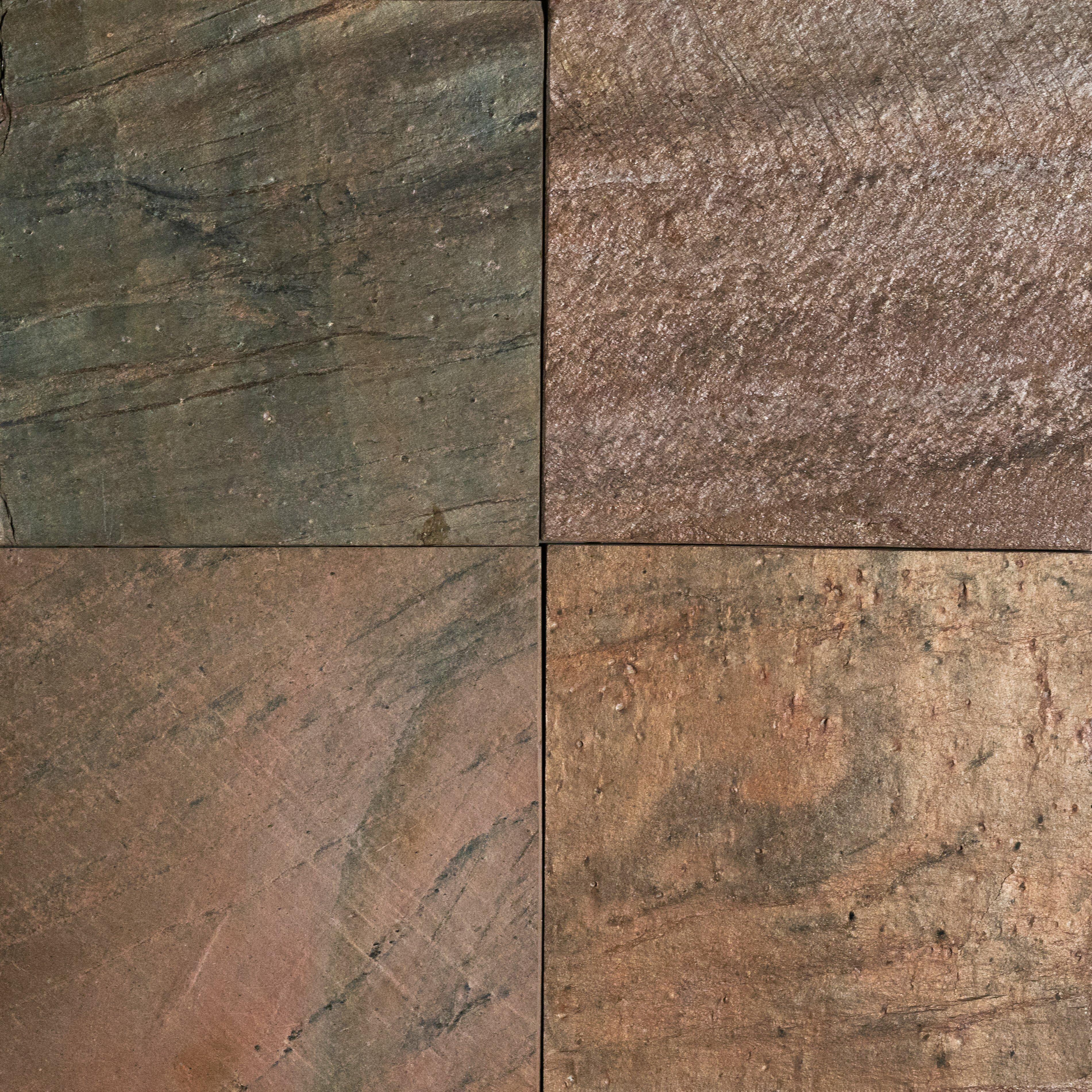 Copper Polished 16x16 Slate Field Tile