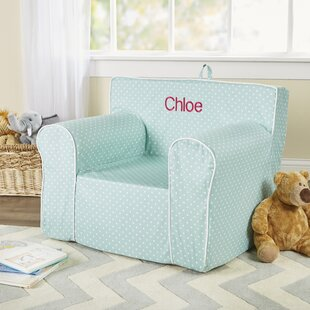 Personalized My Comfy Chair in Mini Dot by Fun Furnishings