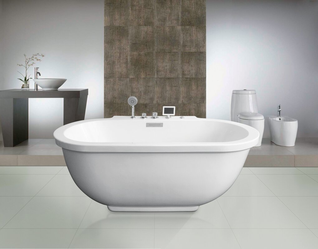 Shirley Whirlpool Bathtub & Reviews | Joss & Main