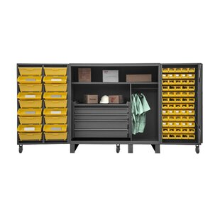 60 H x 36 W x 24 D Lockable Cabinet by Durham Manufacturing