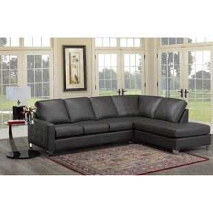Preesall Italian Leather Sectional