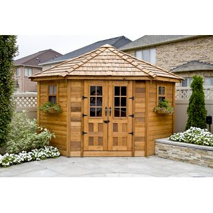 Outdoor Living Today Penthouse 9 Ft. W X 9 Ft. D Solid Wood Storage Shed By Outdoor Living Today