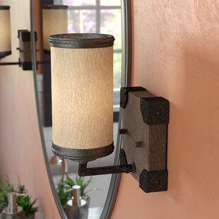 Cheyanne 1-Light Steel Bath Sconce by 17 Stories
