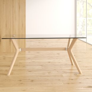 Demers Rectangular Dining Table By Ebern Designs