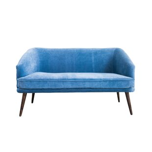 Bungalow Rose Angulo Loveseat