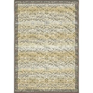 Jamie Traditional Beige Indoor/Outdoor Area Rug