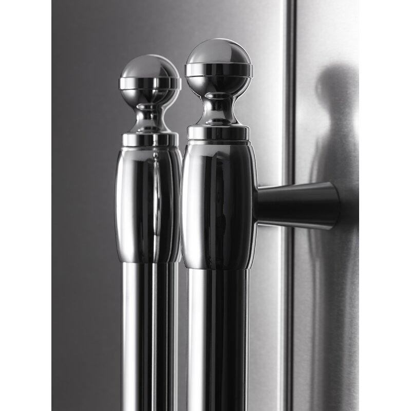 Bertazzoni 21 Cu Ft Counter Depth French Door Refrigerator Wayfair